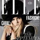 Cara Delevingne - Elle Magazine Cover [United States] (September 2016)