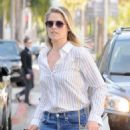 Ali Larter in Jeans Out in Los Angeles - 454 x 583