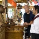 (L-r) TRACY MORGAN as Paul, BRUCE WILLIS as Jimmy and MARK CONSUELOS as Manuel in Warner Bros. Pictures' crime comedy 'Cop Out.' Photo by Abbot Genser - 454 x 302