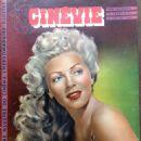 Lana Turner - Cinevie Magazine Cover [France] (15 July 1947)