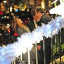 Charles Saatchi and Trinny Woodall were seen getting rather close outside 34 restaurant on Thursday evening - 454 x 601