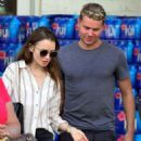 Lily Collins – Shopping at Bristol Farms in Beverly Hills - 454 x 565