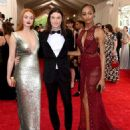 Sophie Turner, James Bay and Jourdan Dunn attend the