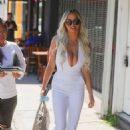 Lindsey Pelas – Arrives at Sugar Taco Restaurant on Melrose Ave in Los Angeles