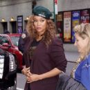 Tyra Banks – out and about in New York City
