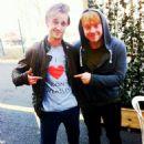 Tom Felton and Rupert Grint