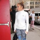 Jennifer Lopez – Arriving at Ripley-Grier Studios for rehearsal in New York