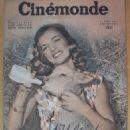 Lizabeth Scott - Cinemonde Magazine Cover [France] (16 April 1946)