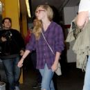 Amanda Seyfried arriving at ArcLight theater in Hollywood (August 22)