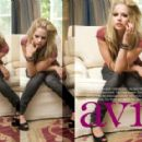 Avril Lavigne - Paul Sebring Photoshoot For Savvy Magazine, November 2009