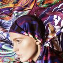 Iselin Steiro for Hermès Scarves Catalogue Spring 2014