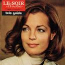 Romy Schneider - Le Soir Magazine Cover [France] (January 1974)