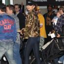 Zendaya attend the Los Angeles Lakers vs Utah Jazz NBA basketball game at the Staples Center in Los Angeles, California on April 16, 2016