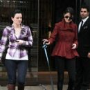 Selena Gomez took her new puppy, Baylor, out for a walk, October 25, in Toronto