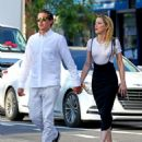 Amber Heard and Vito Schnabel at Bar Pitti in NYC