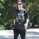 Rooney Mara – Goes for a hike at TreePeople Park in Studio City