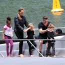 Brad And Angelina: Family Yacht Time With The Kids