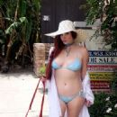 Phoebe Price in Bikini on the beach in Los Angeles - 454 x 806