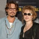 Helena with Johnny Depp