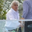 Jay Leno spotted out with friends at the Fontainebleau Hotel in Miami, Florida on January 21, 2015 - 454 x 596