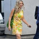 Melinda Messenger - Leaving ITV Studios, London, July 21, 2010