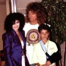 Alannah Myles and Robert and Logan Plant