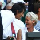 Ronnie Wood attends Wimbledon Championships on July 7, 2013 in London, England
