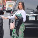 Sophia Bush in Long Dress out and NYC