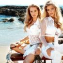 Danielle Knudson & Samantha Hoopes for Guess S/S 2014