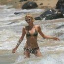 Paris Hilton - Bikini Candids In Maui, Hawaii