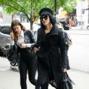 Kat Von D in Black Out in New York