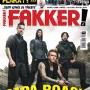 Papa Roach - Fakker! Magazine Cover [Czech Republic] (February 2015)
