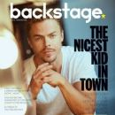 Derek Hough - Backstage Magazine Cover [United States] (30 November 2016)