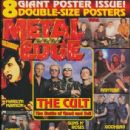 Ian Astbury, Billy Duffy - Metal Edge Magazine Cover [United States] (September 2001)