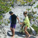Heidi Klum Wearing Bikini On The Beach In Saint Barthelemy