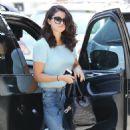 Selena Gomez Heading To A Mall in Studio City, CA. June 16,2014