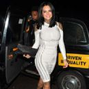 Jemma Lucy – Arriving at Bowlers Exhibition Centre in Manchester - 454 x 639