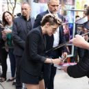 Kristen Stewart – arriving to a press conference for her new movie 'Seberg' in Toronto
