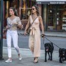 Pippa Middleton – Walking her dog in London - 454 x 449