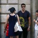 Matthew Fox-July 6, 2009-Matthew Fox and Family in Spain