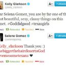 Kelly Clarkson Message to Selena - 454 x 360