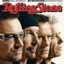 Bono, The Edge, Adam Clayton, Larry Mullen Jr. - Rolling Stone Magazine Cover [United States] (6 November 2014)