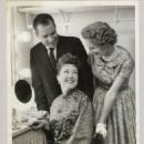 Richard Nixon, Ethel Merman,and Pat Nixon Back Stage