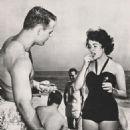 Elizabeth Taylor with Glenn Davis