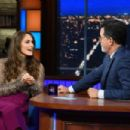 Keira Knightley – Visits The Late Show With Stephen Colbert in NY