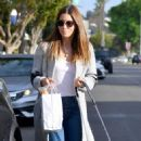 Jessica Biel – Laves Joan's on Third in Studio City