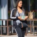 Laila Ali – Shopping candids in Los Angeles - 454 x 709