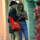 Ashley Benson and Cara Delevigne – Out in Saint Tropez