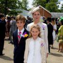 Viscountess Linley & Children