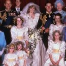 Lady Diana Spencer and Prince Charles wedding - 29 July 1981